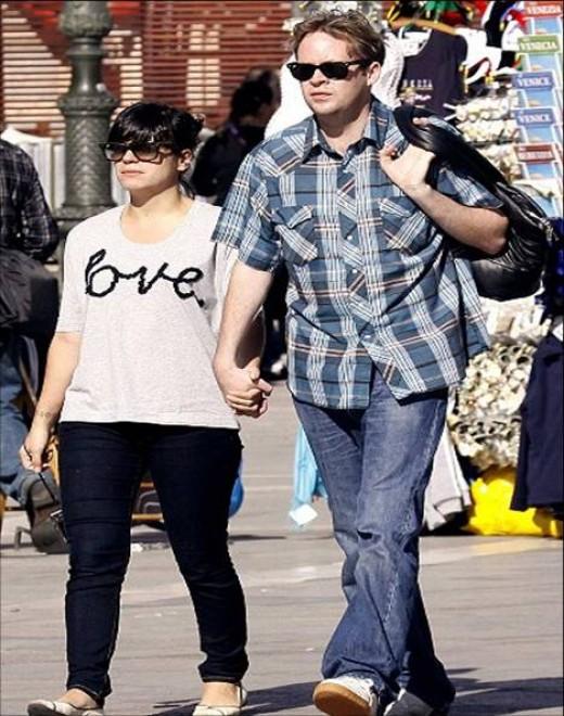 Lily Allen and Sam Cooper