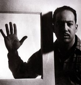 Langston Hughes as Photographed by Gordon Parks