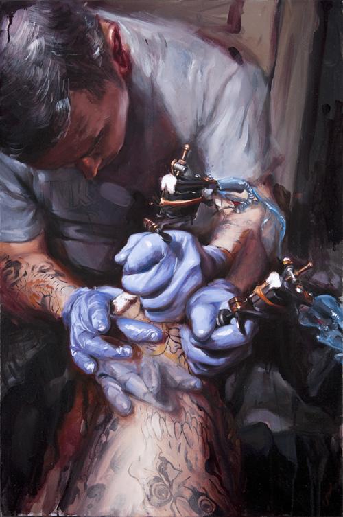 Steve Boltz Tattooing. Shawn Barber