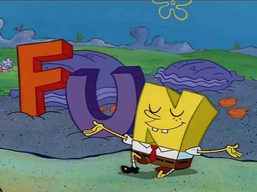 F is for FUN (Google Image)