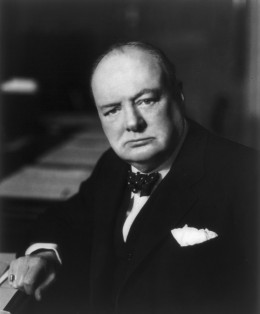 "Isaiah Berlin said of Winston Churchill that he was ""the largest human being of our time."""
