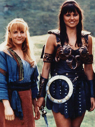 Gabrielle and Xena (Google Image)