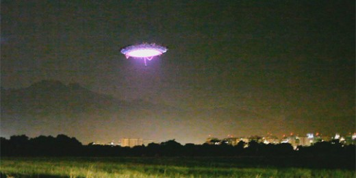 UFO over Rio de Janeiro by Dominic Harric, courtesy of Wiki Commons