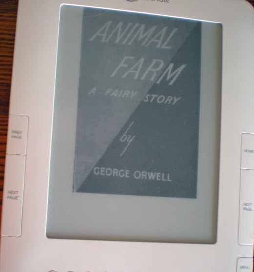 Kindle graphics are grey-scale