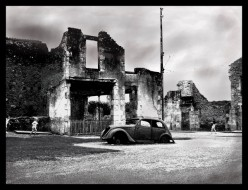 Oradour-Sur-Glane a World War Ii Memorial and Visitor Centre in, Limousin, France