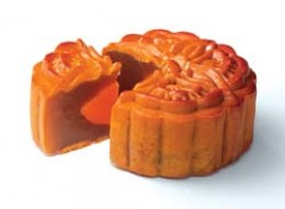 Mooncake - Lotus Seed Flavour with Single Yolk