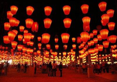 Lantern Festival in Chinatown