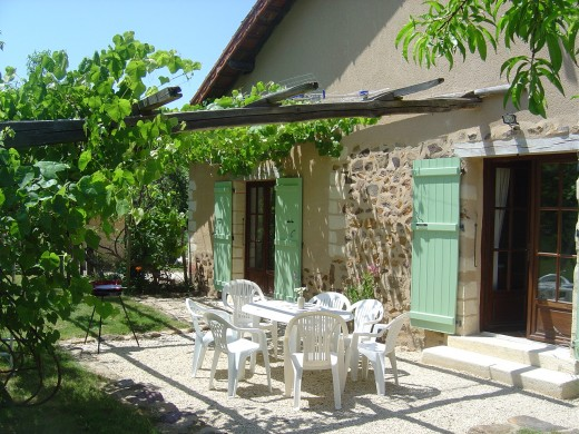 Our spacious new gite has 3 en-suite bedrooms and sleeps 7 adults.