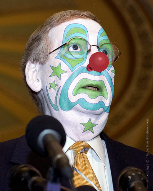 Senate Minority Leader McConnell of Kentucky...Atta Boy Mitch...In the spirit of a true American he is taking on another Job to combat the Citizens PayGo Mandate.