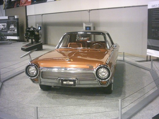 1963 Chrysler Turbine Car Front View
