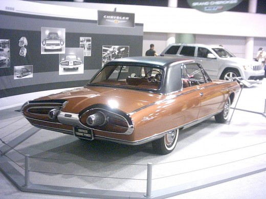 1963 Chrysler Turbine Car Side View
