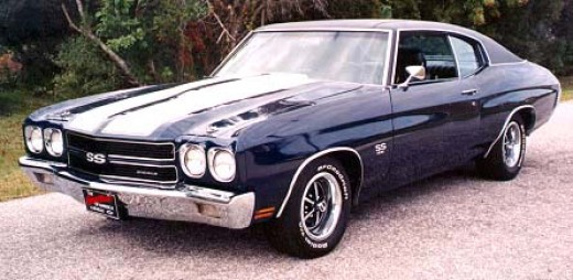Chevy Muscle Cars - 1970 Chevy Chevelle SS