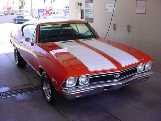 Chevy Muscle Cars - 1970 Chevrolet Chevelle SS