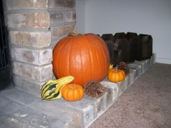 Easy To Do Fall Decorations :: Ideas for Fall Decorations :: Outside Fall Decorations