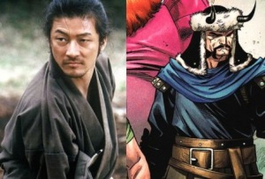 Hogun the Grim, and Tadanobu Asano who is set to portray him