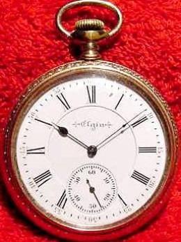 Elgin antique pocket watch http://barrygoldberg.net/
