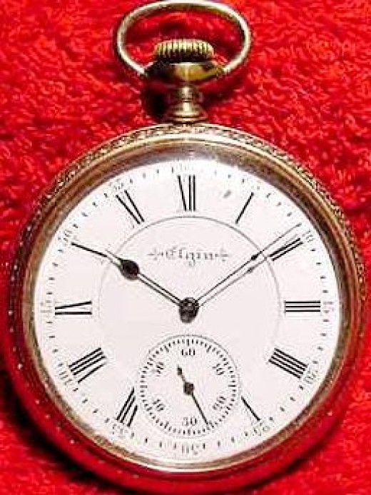 Elgin antique pocket watch http://barrygoldberg.net/