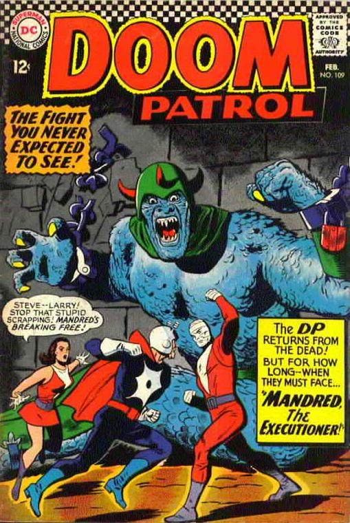Another magnificent Doom Patrol cover by Bruno Premiani