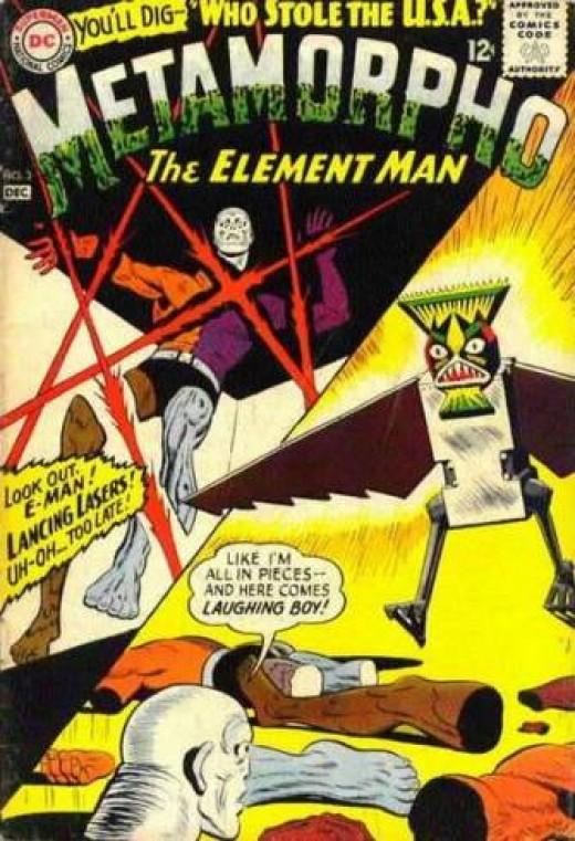 Metamorpho by Ramona Fradon for DC Comics
