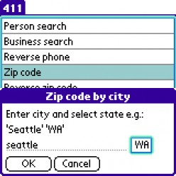 Zip Code Search