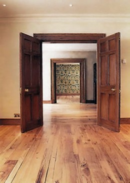 Re-Purposed Oak Flooring