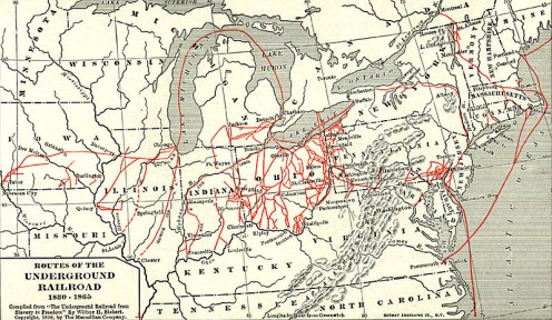 Ohio was the center of the escape program run by Quakers, runaway slaves, freedmen, preachers, and sympathizers.