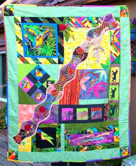 my tarzan quilt