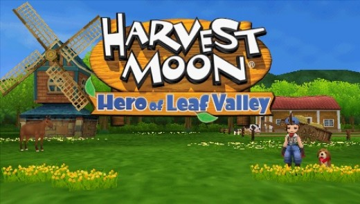 Harvest Moon: Hero of Leaf Valley - Sony PSP Game