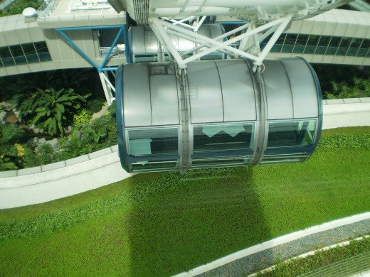 Take a ride on the Singapore Flyer.