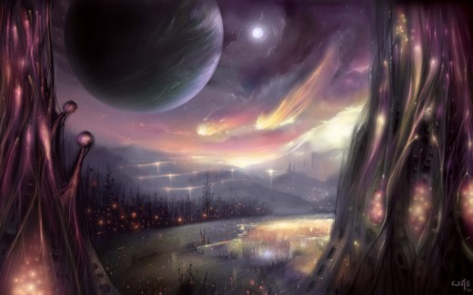 """Living Planet"" by *Bakenius (DeviantART)"