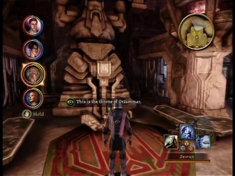Orzammar Throne - Unleashing the Dragon