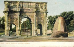 The Arch of Constantine seen from the Colosseum
