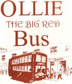 Free Bedtime Stories For Children: A Kids Story About Ollie The Big Red Bus - Ollie's New Job
