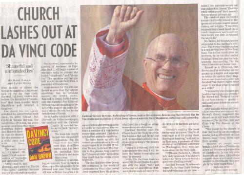 HOW THE CATHOLIC CHURCH REACTED (www.worldmysteries.com)