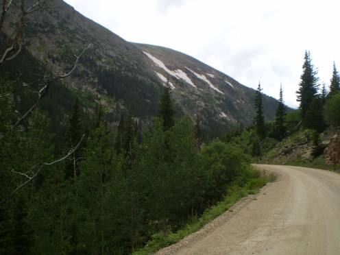 Approaching Chapin Pass in Rocky Mountain National Park.