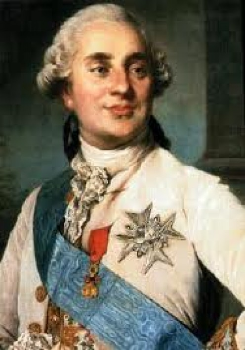 Louis XVI. His love for his wife caused him to act in too much haste.