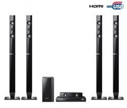 Samsung HT-C555 5.1 inch - 1000W Home Theatre System Half TB Wireless Rear Ready Compatible with SWA-5000 Module