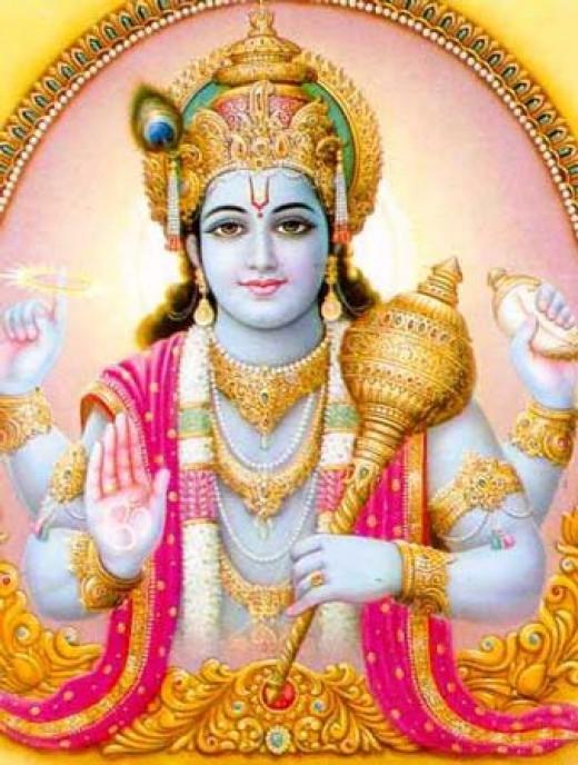 Picture of Lord Vishnu
