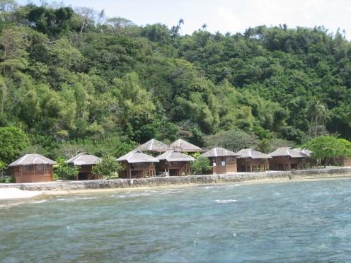Verde Island Resort near Puerto Galera.