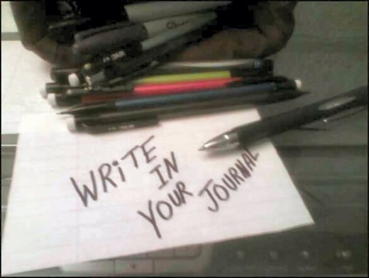 Writing everyday can help keep track of current events