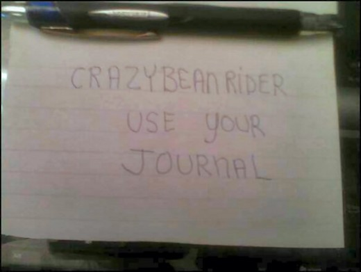 It's Your Journal-Start Writing