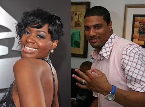 Fantasia Barrino and Antwaun Cook