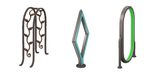 The Pushin' Pedals range of bike stands.