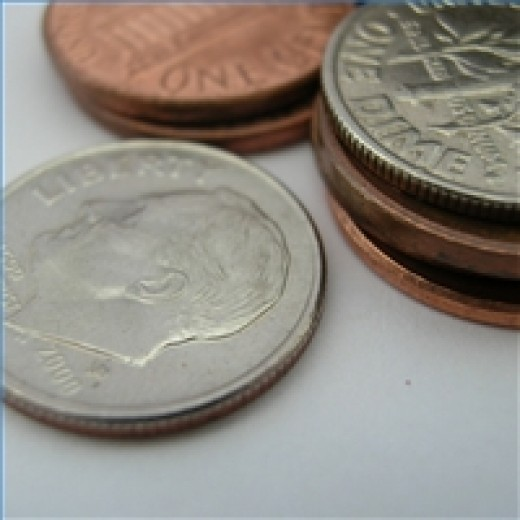 Decades ago, cash was actually made of precious metals and contained real value.
