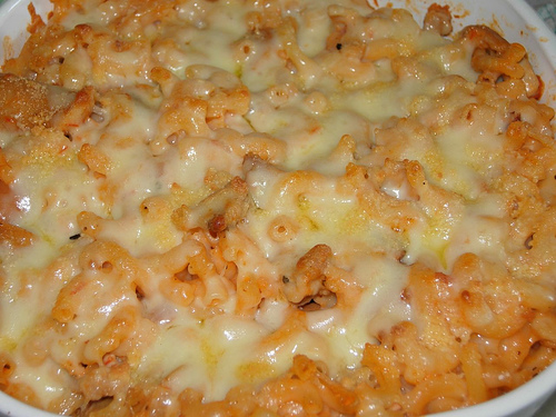 Here is a recipe for one of the most delicious macaroni and cheese's you will ever eat.