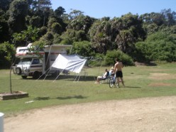 Our encampment - like a band of Gypsies