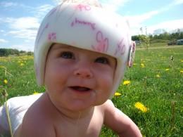 Helmet baby!!