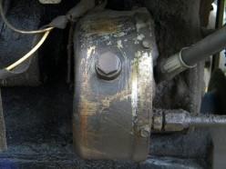 Old steering Pump is simply worn out