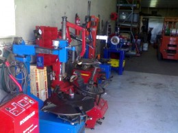Some of my used machinery.