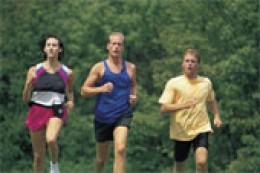 Running is good exercise, but is hard on the body!